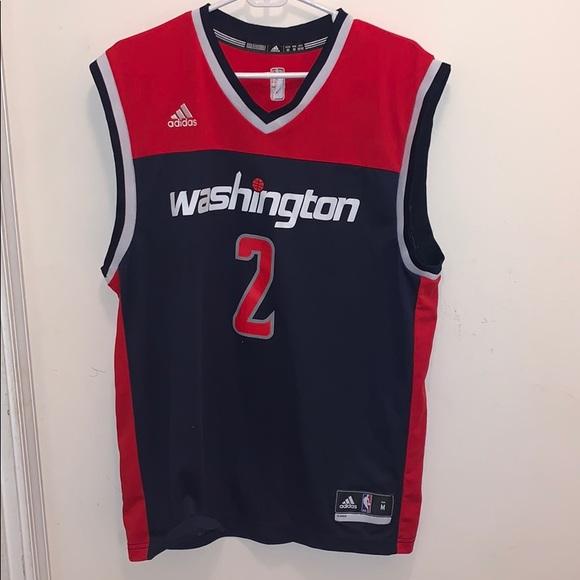 best service 92bd7 a3601 Men's Washington Wizards John Wall Jersey